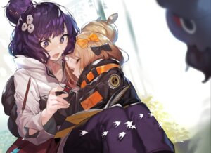 Rating: Safe Score: 37 Tags: abigail_williams_(fate/grand_order) akieda bandaid fate/grand_order katsushika_hokusai_(fate/grand_order) yuri User: Mr_GT