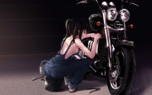 Rating: Safe Score: 78 Tags: cait no_bra overalls wallpaper User: fireattack