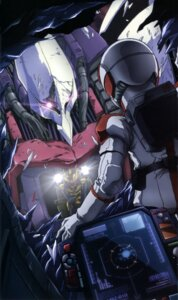 Rating: Safe Score: 6 Tags: gundam gundam_zz haman_karn judau_ashta mecha qubeley zeta_gundam User: drop