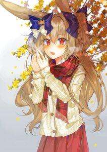 Rating: Safe Score: 13 Tags: animal_ears bunny_ears saichuu sweater User: sym455