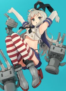 Rating: Safe Score: 28 Tags: heels kantai_collection pantsu rensouhou-chan shimakaze_(kancolle) thighhighs wataro_(watawatawatapon) User: Mr_GT