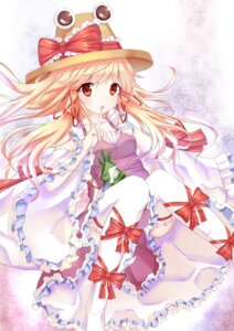 Rating: Safe Score: 39 Tags: dress moriya_suwako thighhighs touhou xiao_yinbie User: tbchyu001