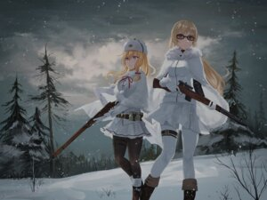Rating: Safe Score: 24 Tags: chihuri garter girls_frontline gun megane mosin-nagant_(girls_frontline) pantyhose svt-38_(girls_frontline) User: BattlequeenYume
