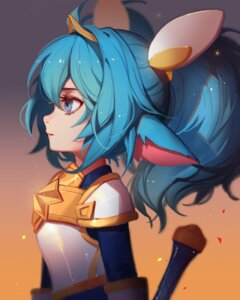 Rating: Safe Score: 36 Tags: animal_ears armor league_of_legends pointy_ears poppy songjikyo User: charunetra