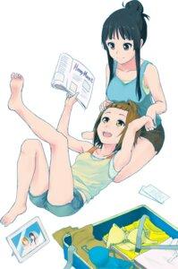 Rating: Safe Score: 18 Tags: akiyama_mio k-on! tainaka_ritsu zasshu_tamashii User: Radioactive