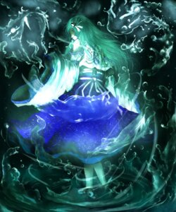 Rating: Safe Score: 8 Tags: chama_(painter) kochiya_sanae touhou User: Konngara