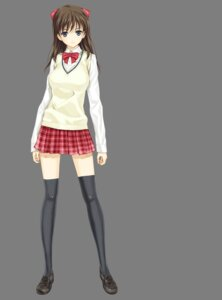 Rating: Safe Score: 35 Tags: cropme happoubi_jin iseshima_aya seifuku thighhighs transparent_png zettai_shougeki_platonic_heart User: Radioactive