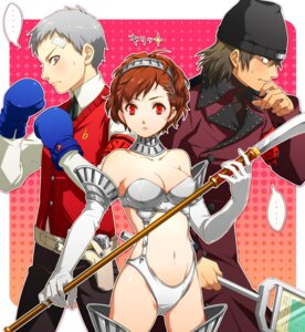 Rating: Safe Score: 19 Tags: aragaki_shinjirou armor cleavage female_protagonist_(p3) jpeg_artifacts megaten persona persona_3 sanada_akihiko sword tetsukuzu_tetsuko User: Radioactive