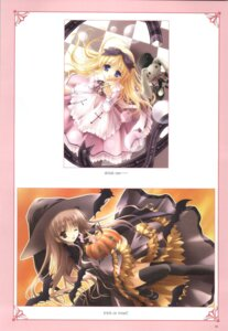 Rating: Safe Score: 7 Tags: alice alice_in_wonderland dress halloween lolita_fashion pantsu thighhighs tinkle witch User: noirblack