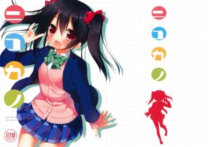 Rating: Safe Score: 26 Tags: 23.4° crease ichiri love_live! seifuku yazawa_nico User: Twinsenzw