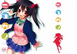Rating: Safe Score: 27 Tags: 23.4° crease ichiri love_live! seifuku yazawa_nico User: Twinsenzw