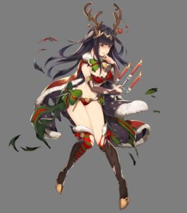 Rating: Safe Score: 20 Tags: animal_ears bikini_armor christmas cleavage fire_emblem fire_emblem_heroes fire_emblem_kakusei heels horns nintendo possible_duplicate tharja thighhighs torn_clothes transparent_png washimoto User: Radioactive