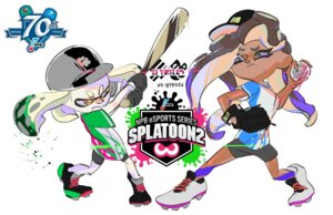 Rating: Questionable Score: 4 Tags: baseball iida_(splatoon) marina_(splatoon) nintendo pearl_(splatoon) sketch splatoon tagme User: fly24
