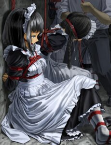 Rating: Questionable Score: 30 Tags: bondage fleda maid pantyhose User: Mr_GT