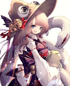 Rating: Safe Score: 20 Tags: hito_komoru japanese_clothes moriya_suwako touhou User: Dreista