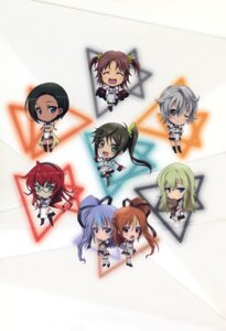 Rating: Safe Score: 15 Tags: chibi heels infinite_stratos megane pantyhose seifuku tagme thighhighs User: DDD