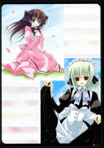 Rating: Safe Score: 7 Tags: dress kannon_ouji maid neuromancer. User: fireattack