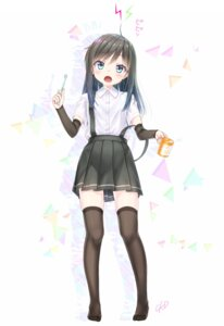 Rating: Safe Score: 37 Tags: asashio_(kancolle) gotou_hisashi kantai_collection seifuku thighhighs User: Mr_GT