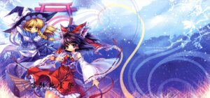 Rating: Safe Score: 12 Tags: capura.l eternal_phantasia hakurei_reimu kirisame_marisa touhou User: midzki