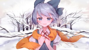 Rating: Safe Score: 25 Tags: cirno kyuri_(405966795) touhou wings User: Mr_GT