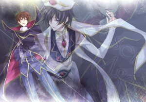 Rating: Safe Score: 3 Tags: code_geass kururugi_suzaku lelouch_lamperouge maretsuki User: yumichi-sama