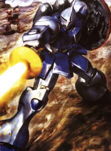 Rating: Safe Score: 6 Tags: gundam mecha mobile_suit_gundam morishita_naochika User: Radioactive