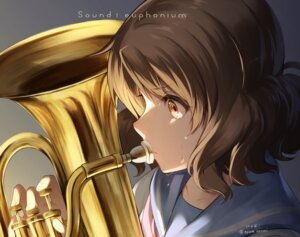 Rating: Safe Score: 25 Tags: hibike!_euphonium nyum oumae_kumiko seifuku User: Mr_GT