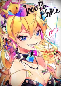 Rating: Safe Score: 23 Tags: bowsette cleavage horns new_super_mario_bros._u_deluxe pointy_ears tattoo ye_weiyang_mio User: charunetra