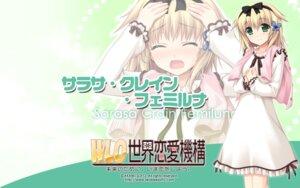 Rating: Safe Score: 16 Tags: akabeisoft2 alpha asami_asami sarasa_crain_femiluna wallpaper w.l.o._sekai_renai_kikou User: tengokuno