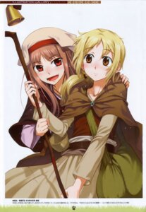 Rating: Safe Score: 29 Tags: dress holo koume_keito nora_ardent spice_and_wolf User: Eruru