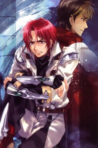 Rating: Safe Score: 4 Tags: axel_almer kuramoto_kaya kyousuke_nanbu male super_robot_wars User: Share