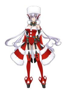 Rating: Safe Score: 11 Tags: christmas cleavage kaneko_akifumi leotard senki_zesshou_symphogear stockings thighhighs User: Radioactive