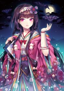 Rating: Safe Score: 50 Tags: fate/grand_order japanese_clothes may_(2747513627) osakabe-hime_(fate/grand_order) User: Mr_GT