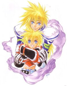 Rating: Safe Score: 2 Tags: inomata_mutsumi kyle_dunamis stan_aileron tales_of tales_of_destiny User: Radioactive