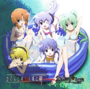 Rating: Safe Score: 25 Tags: bikini cleavage disc_cover furude_rika hanyuu higurashi_no_naku_koro_ni horns houjou_satoko ryuuguu_rena screening sonozaki_mion swimsuits User: acas