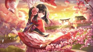 Rating: Safe Score: 47 Tags: althea_(sakiya0000) japanese_clothes onmyouji ying_hua_yao User: charunetra