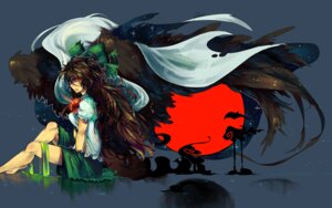 Rating: Safe Score: 15 Tags: knifedragon reiuji_utsuho touhou User: Konngara
