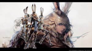 Rating: Questionable Score: 14 Tags: animal_ears armor bunny_ears cleavage final_fantasy final_fantasy_xiv heels square_enix tagme thighhighs User: ForteenF