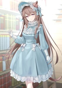 Rating: Safe Score: 27 Tags: animal_ears dress lolita_fashion nekomimi ronopu tail User: Dreista