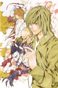 Rating: Safe Score: 4 Tags: death_note male mikami_teru obata_takeshi ryuk yagami_light User: Radioactive
