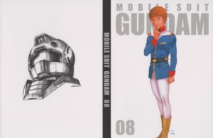 Rating: Safe Score: 3 Tags: amuro_ray disc_cover gundam male mobile_suit_gundam okawara_kunio yasuhiko_yoshikazu User: Radioactive
