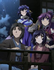 Rating: Safe Score: 30 Tags: animal_ears haku_(utawarerumono) japanese_clothes karura kuon_(utawarerumono) touka utawarerumono_itsuwari_no_kamen wings User: drop