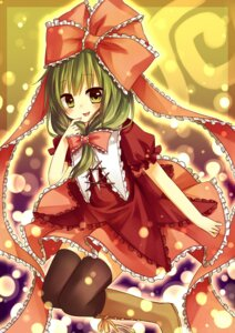 Rating: Safe Score: 9 Tags: amene_kurumi kagiyama_hina thighhighs touhou User: fairyren