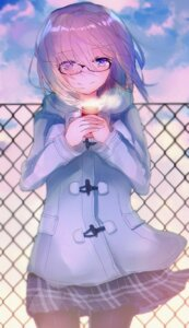 Rating: Safe Score: 26 Tags: fate/grand_order hatou_midori mash_kyrielight megane pantyhose User: Mr_GT