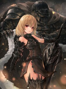 Rating: Safe Score: 28 Tags: armor crystalherb dress sword thighhighs User: Mr_GT