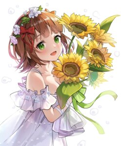 Rating: Questionable Score: 18 Tags: amami_haruka dress hyoin no_bra the_idolm@ster User: Dreista