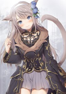 Rating: Safe Score: 33 Tags: animal_ears final_fantasy final_fantasy_xiv miqo'te nekomimi tagme tail yana_mori User: BattlequeenYume