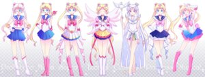 Rating: Safe Score: 19 Tags: cleavage dress heels megane sailor_moon saki_(hxaxcxk) seifuku tsukino_usagi weapon wings User: charunetra