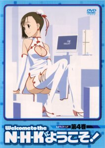 Rating: Questionable Score: 16 Tags: chinadress cleavage disc_cover ishihama_masashi nakahara_misaki nhk_ni_youkoso nopan thighhighs User: vita