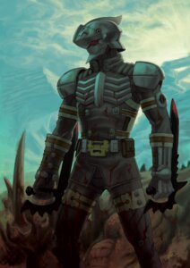 Rating: Safe Score: 11 Tags: alteil armor blood male tagme User: Radioactive